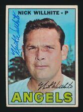 1967 Topps Nick Willhite California Angels #249 Baseball Card