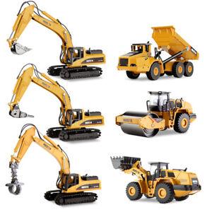 1:50 Scale Alloy Dump Truck Excavator Diecast Construction