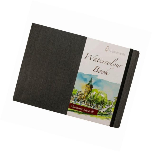 Hahnemuhle Aquarelle papier Livre 200gsm 30 grain fin feuilles Paysage A4