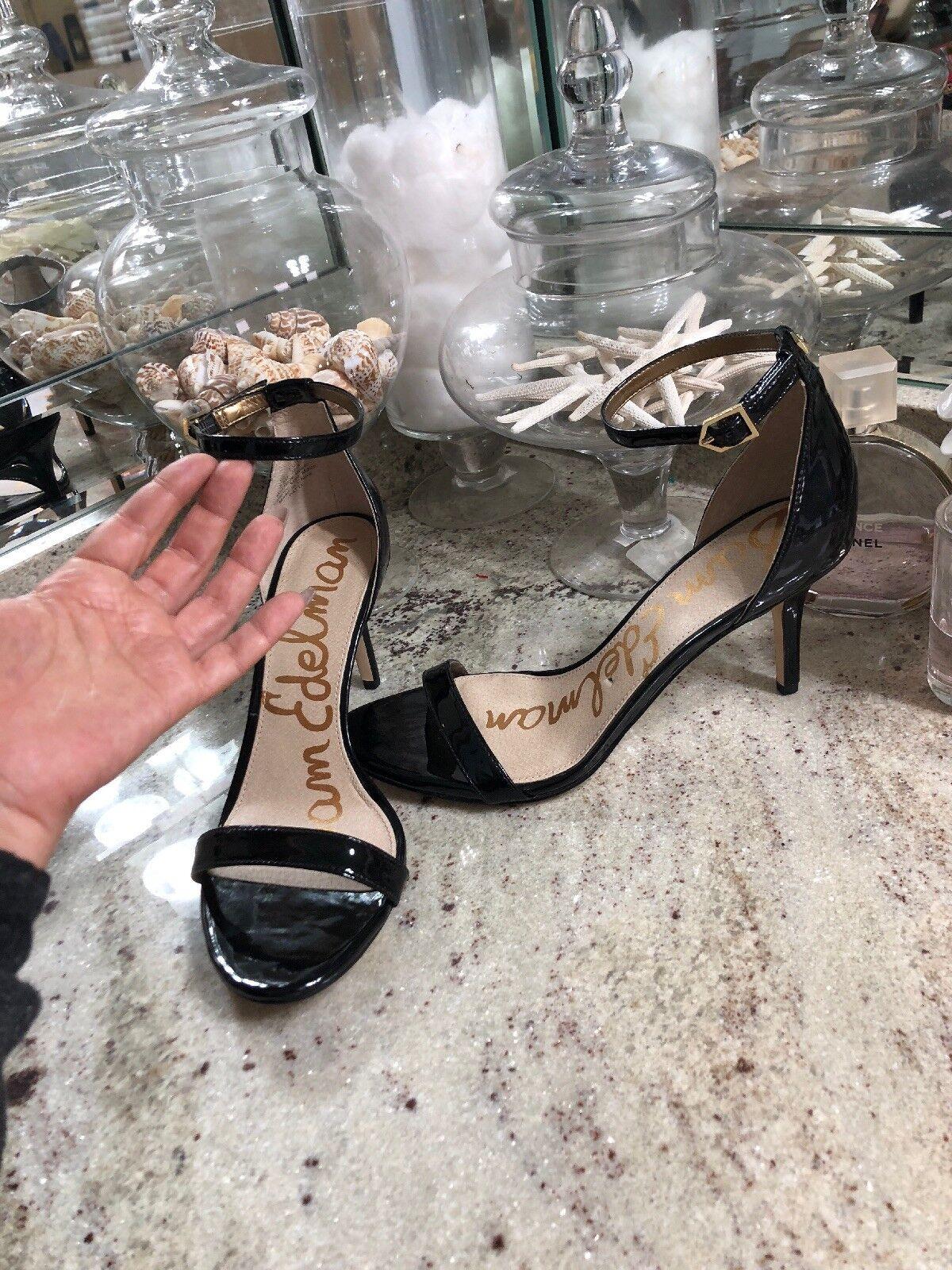 Sam Edelman Patti Strappy Sandal Heel - Women's Size 8.5 Black