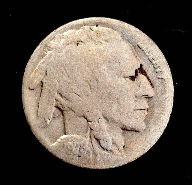1928-D Buffalo Nickel Extra fine