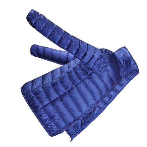 Men/'s DuckDown Down Jacket Puffer Stand collar Coat Ultralight Outdoor Packable
