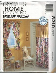 8210 Uncut Vintage Mccalls Sewing Pattern Home Decor Bathroom Essentials Htf Oop Ebay