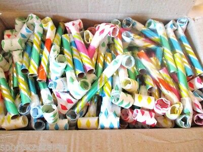 24 BLOWOUTS BLOW OUTS HOLIDAY NOISEMAKERS PARTY FAVOR CARNIVAL NEW YEARS EVE