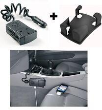 Ring Auto 120w 12v Car to 240v Mains & USB Socket Mini Power Inverter + CRADLE