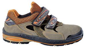 Dettagli su Scarpa antinfortunistica COFRA lavoro SHUTOUT S1 P SRC scarpe estive strappi