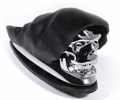Kotflügel Fender Ornament Totenkopf Chrom Skull f Harley Honda Suzuki Yamaha BMW