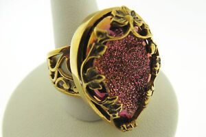 Sajen-by-Marianna-and-Richard-Jacobs-Pink-Drusy-Bronze-Ring