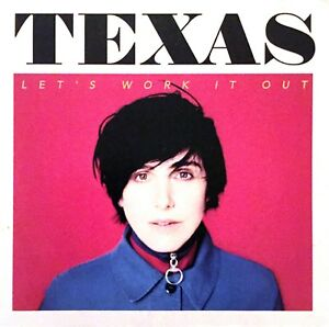FRENCH-CDr-SINGLE-PROMO-TEXAS-LET-039-S-WORK-IT-OUT-CARDBOARD-SLEEVE-RARE-COLLECTOR