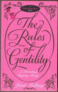 034-The-Rules-of-Gentility-034-By-Janet-Mullany-Used-Book