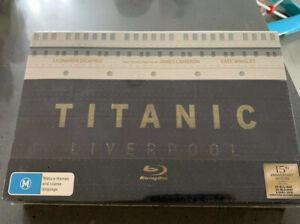 New-Titanic-15th-Anniversary-Edition-Rare-Box-Set-Blu-Ray-amp-DVD-Souvenir-Book