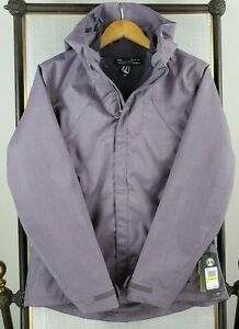 UNDER-ARMOUR-Womens-Medium-3-in-1-ColdGear-Infrared-Lavender-Jacket-New-199