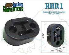 "RHR1 Exhaust Mount Rubber Insulator Grommet Hanger Bushing 1/2"" Rod Support"