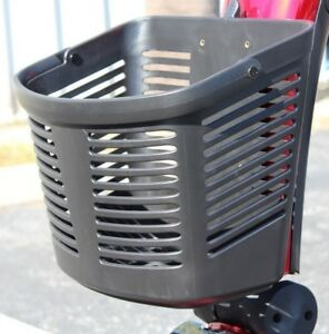 Pride-Mobility-Black-FRONT-BASKET-for-Victory-Go-Go-Sport-Pursuit-Scooters