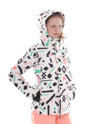 Brunotti Skijacke Winterjacke Schneejacke weiß Leddy Muster wärmend