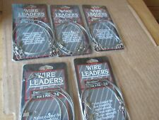 chaque ldrwc 30 environ 9.14 m 3 Packs #30 Danielson à manches courtes Coated Wire Leader 30 Ft