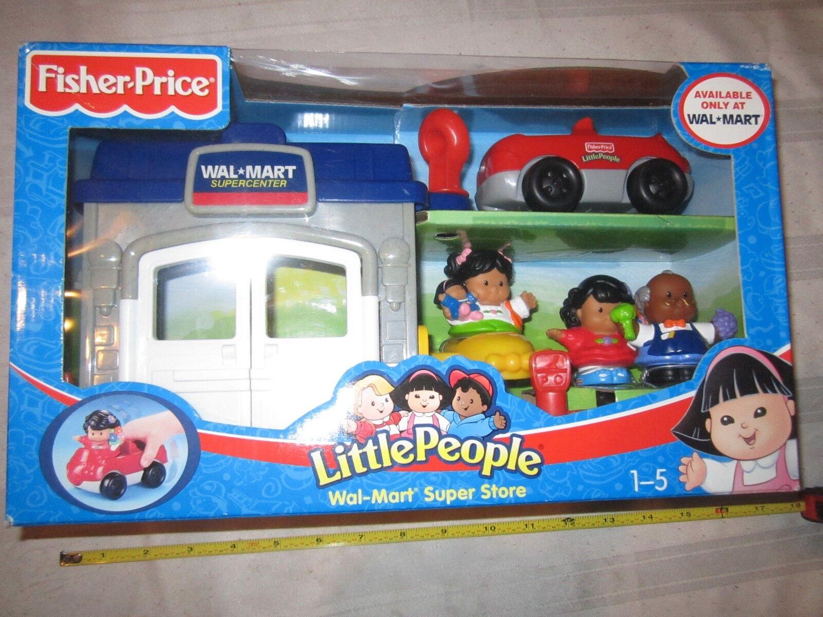 Fisher Price Little People Walmart Super Center Super Store Set New In Box