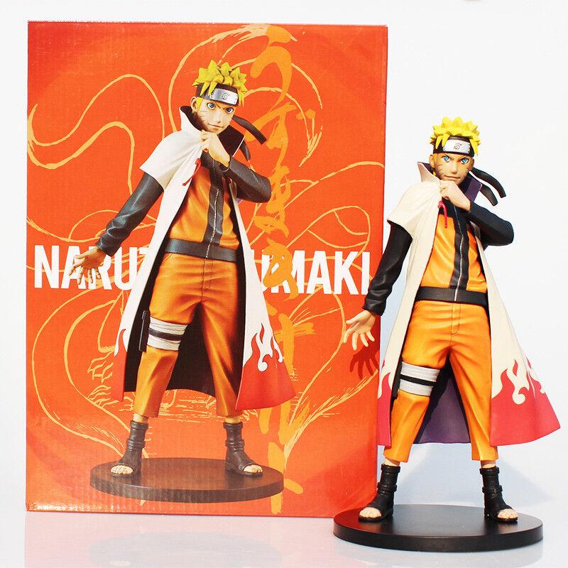 FIGURINES Naruto Shippuden Uzumaki Naruto PVC Action Figure Collection 25 cm
