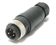 Molex 845200002 Mini 4 P Male Field Attachable Connector 5pcs
