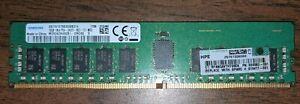 Samsung 16GB 1Rx4 PC4-2400T DDR4-19200 ECC Registered Server Memory RAM