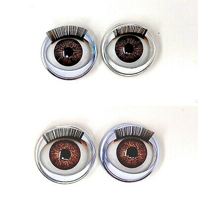 CLEARANCE 2 PACK American Girl Custom Amber /& Campfire Open Close Doll Eyes New