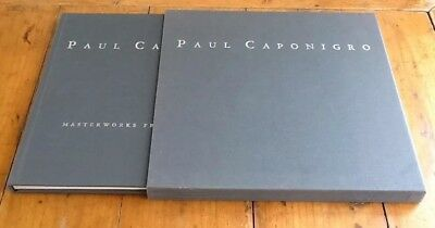 Paul Caponigro Masterworks From Forty Years 1993 Hardcover Slipcase