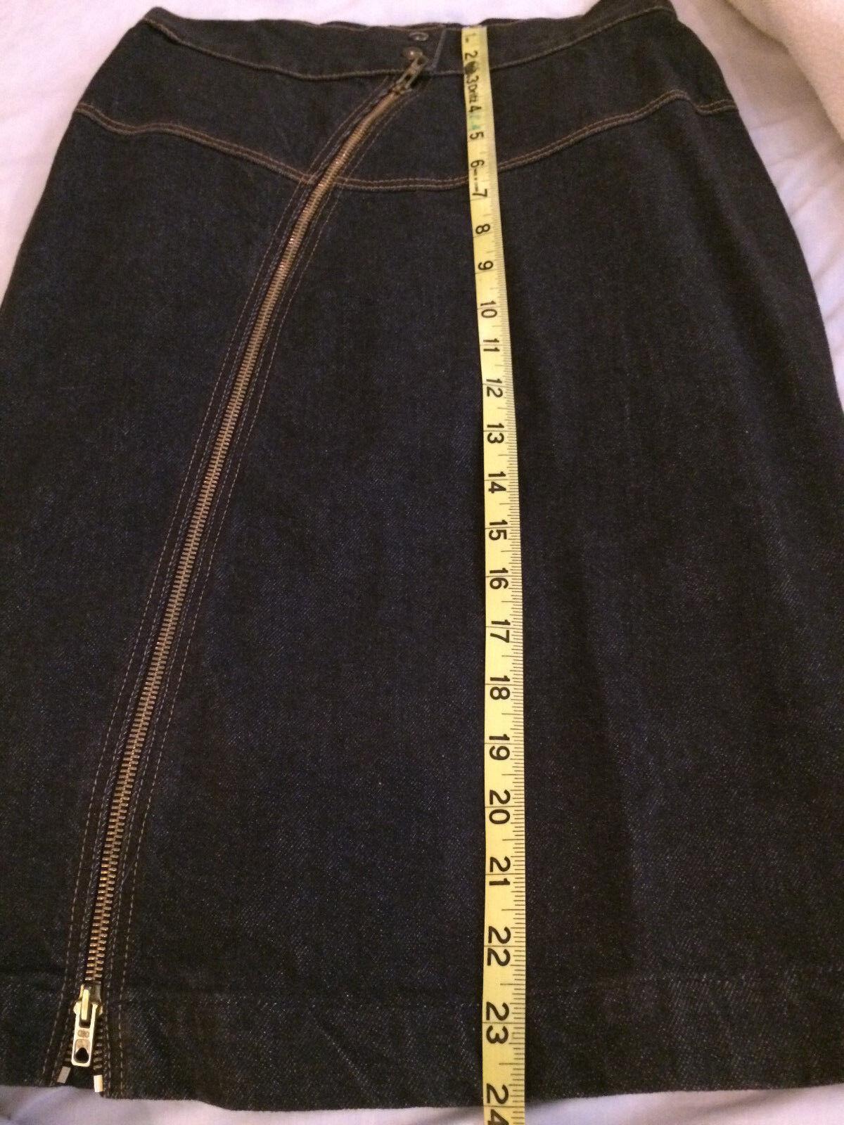Iconic Azzedine Alaia vintage denim jacket and sk… - image 11