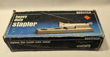 Vintage Bostitch Heavy Duty Stapler B300 Beige Japan