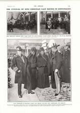 1906 Funeral Of King Christian Copenhagen Scenes Underground Tram Cars Kingsway