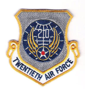 MILITARY-PATCH-U-S-AIR-FORCE-20th-AIR-FORCE