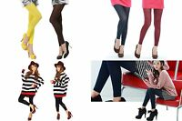 A - New 3 Colors Choose One Ladies Footless Tights Pantyhose
