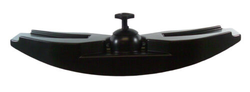 Universal Rearview Vision 180° Cup mount Black Mirror Head for Marine-Boat-Ski
