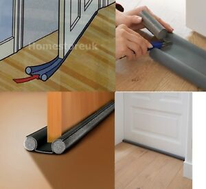Image is loading DOUBLE-SIDED-UNDER-DOOR-FOAM-DRAUGHT-EXCLUDER-INSULATION- & DOUBLE SIDED UNDER DOOR FOAM DRAUGHT EXCLUDER INSULATION SEAL STOP ...