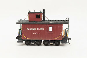 HO-SUPER-DETAILED-KIT-CP-CANADIAN-PACIFIC-SHORT-CABOOSE-437112-KADEE-TRUCKS-RARE