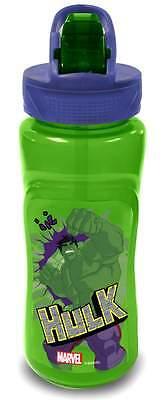 Marvel Avengers: Hulk Plastic Flip 'n' Flow Bottle (590ml)