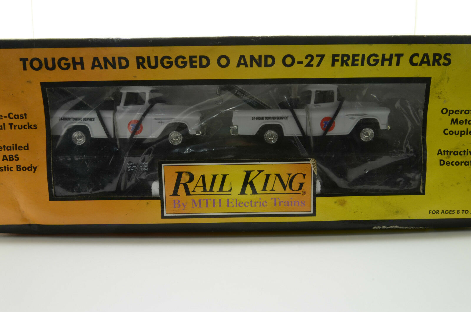RARE    Freight Cars Cars Cars Rail King by MTH Electric Trains 95f762