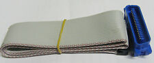 BBC computer parallel  printer cable 26 IDC to 36 centronics ribbon cable lead