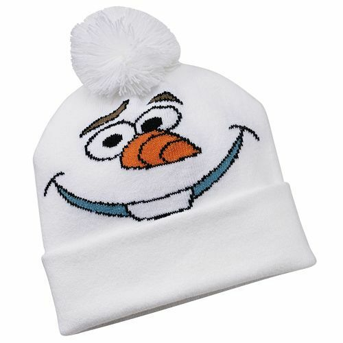 LAST ONE CLOSEOUT*  Disney FROZEN OLAF Cold Weather Hat PINK Girls FREE SHIPPING