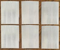 Corrugated Metal Roofing - 6 Pc. Set / Bird Houses,roofing, Kits, Weddings, Tags