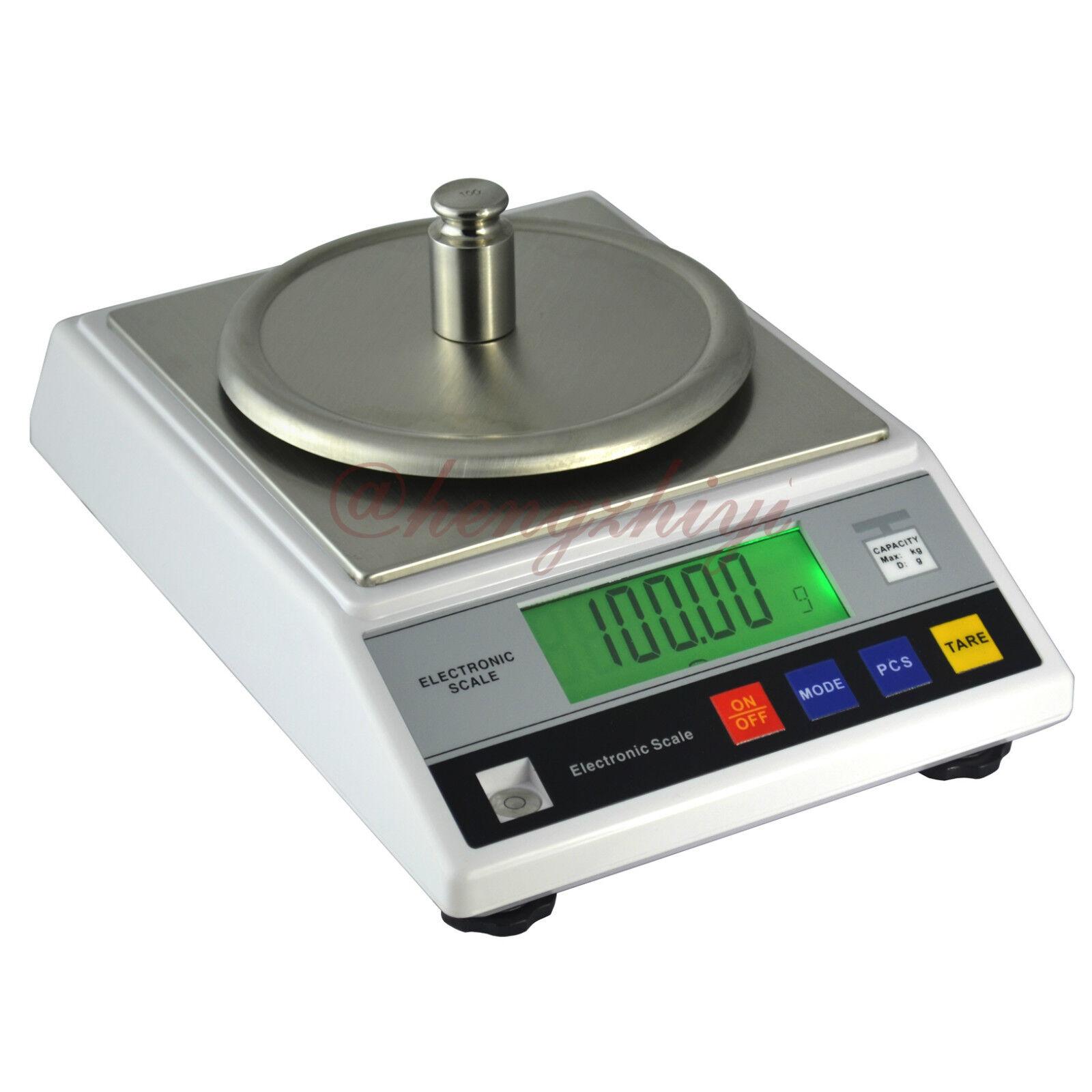 1000g x0.01g Digital Precision Carat Scale Balance w Germany Sensor+Counting 1kg