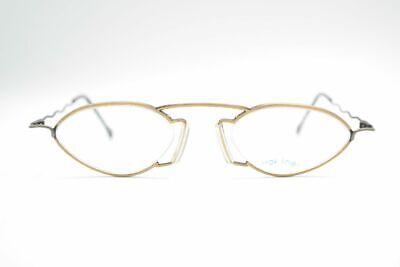 Frugale Vintage Rak Linea 0097 51314 3011 48 [] 22 140 Oro Verde Ovale Occhiali Nos-