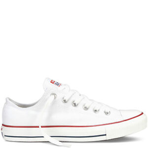 Converse All Star Low lassic Chuck Taylor Trainers for Women, Size 7 - White
