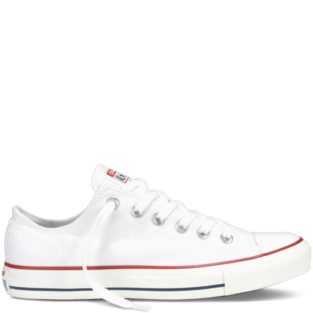 Converse All Star Chucks M7652 Low White Unisex Taylor SNEAKERS ... 13b4b50067c