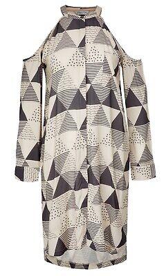 Nikita Evernia Dress S UVP 59,95€ Kleid  Triangle Print  Gr