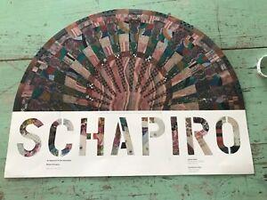 "Miriam Schapiro Vintage Art Poster Fan 17"" x 22"""