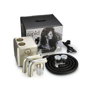 ABBRONZANTE-Essentials-RAPID-Abbronzatura-Spray-Abbronzante-COMPRESSORE-TUBO-PISTOLA-Display-a-LED