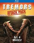 Tremors Attack Pack 0025192196546 With Kevin Bacon Blu-ray Region a