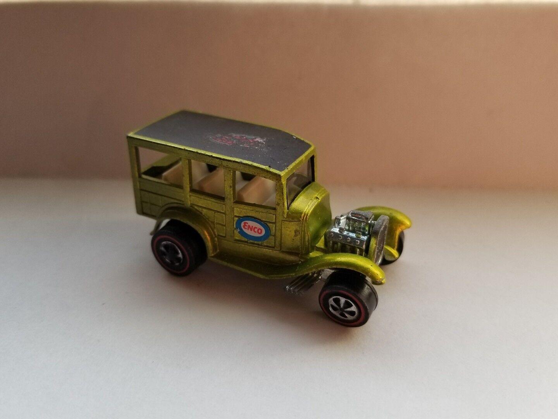 Clásico '31 Ford Woody rojoline Hot Wheels Anticongelado verde