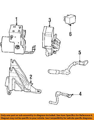 GM OEM ABS Anti-Lock Brakes-Wire Wiring Harness 15776487
