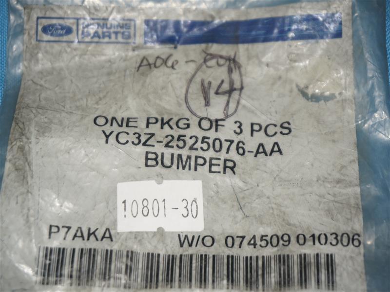 FORD OEM 98-11 Ranger Front Door-Bumper YC3Z2525076AA